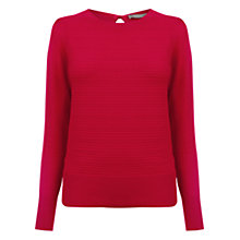 Buy Oasis Pointelle Bow Back Jumper Online at johnlewis.com