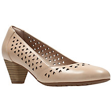 Buy Clarks Denny Dallas Cut Out Court Shoes Online at johnlewis.com