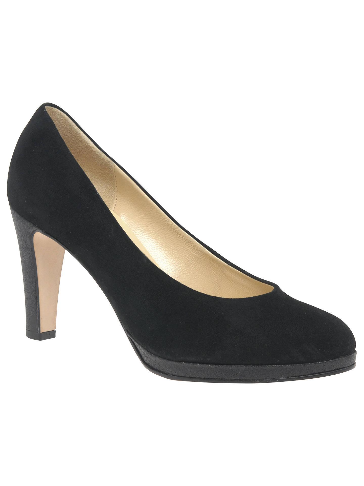 Gabor Splendid Black Suede Shoes