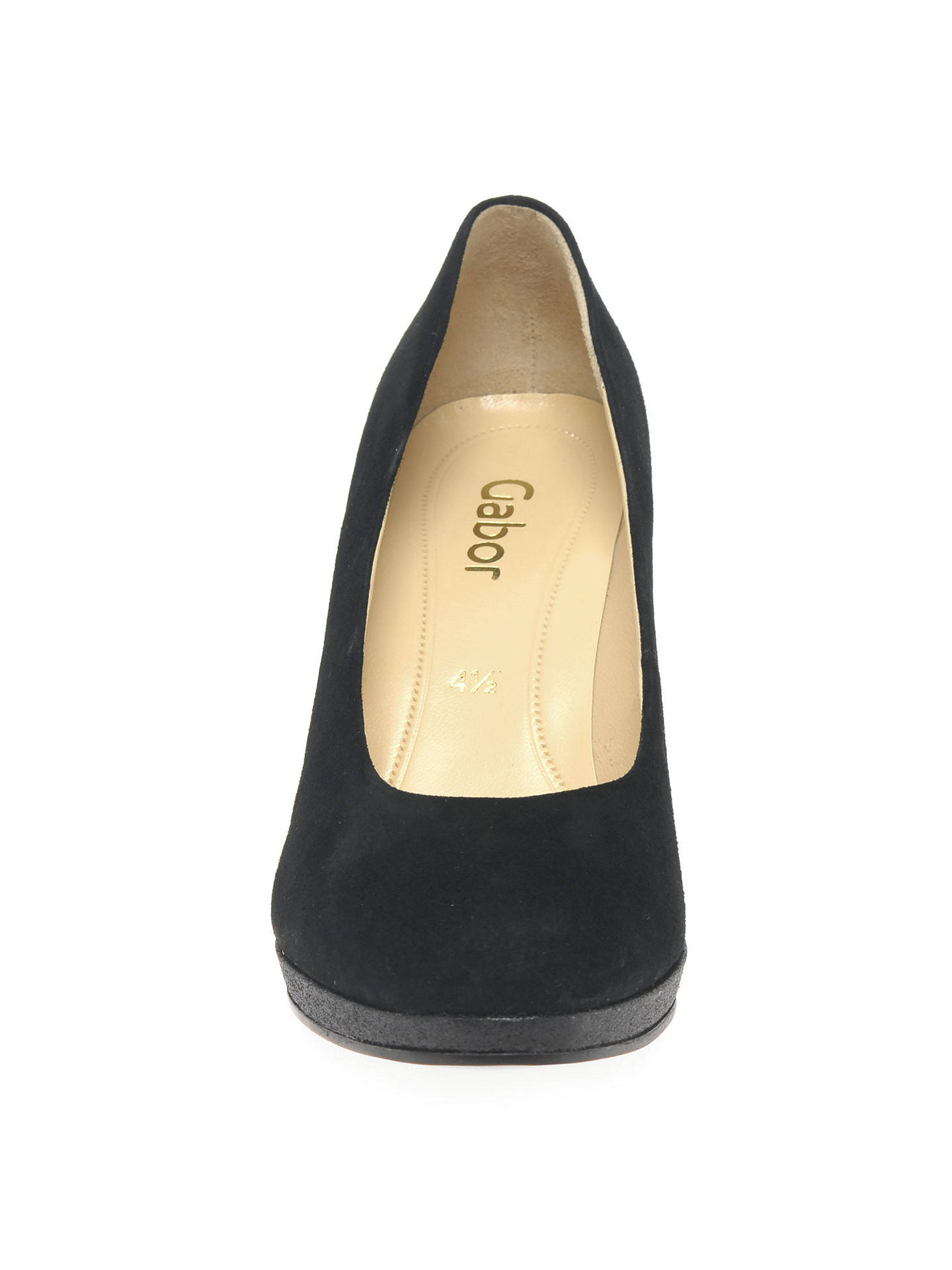 9959449a8eb Gabor Splendid Block Heeled Court Shoes at John Lewis   Partners