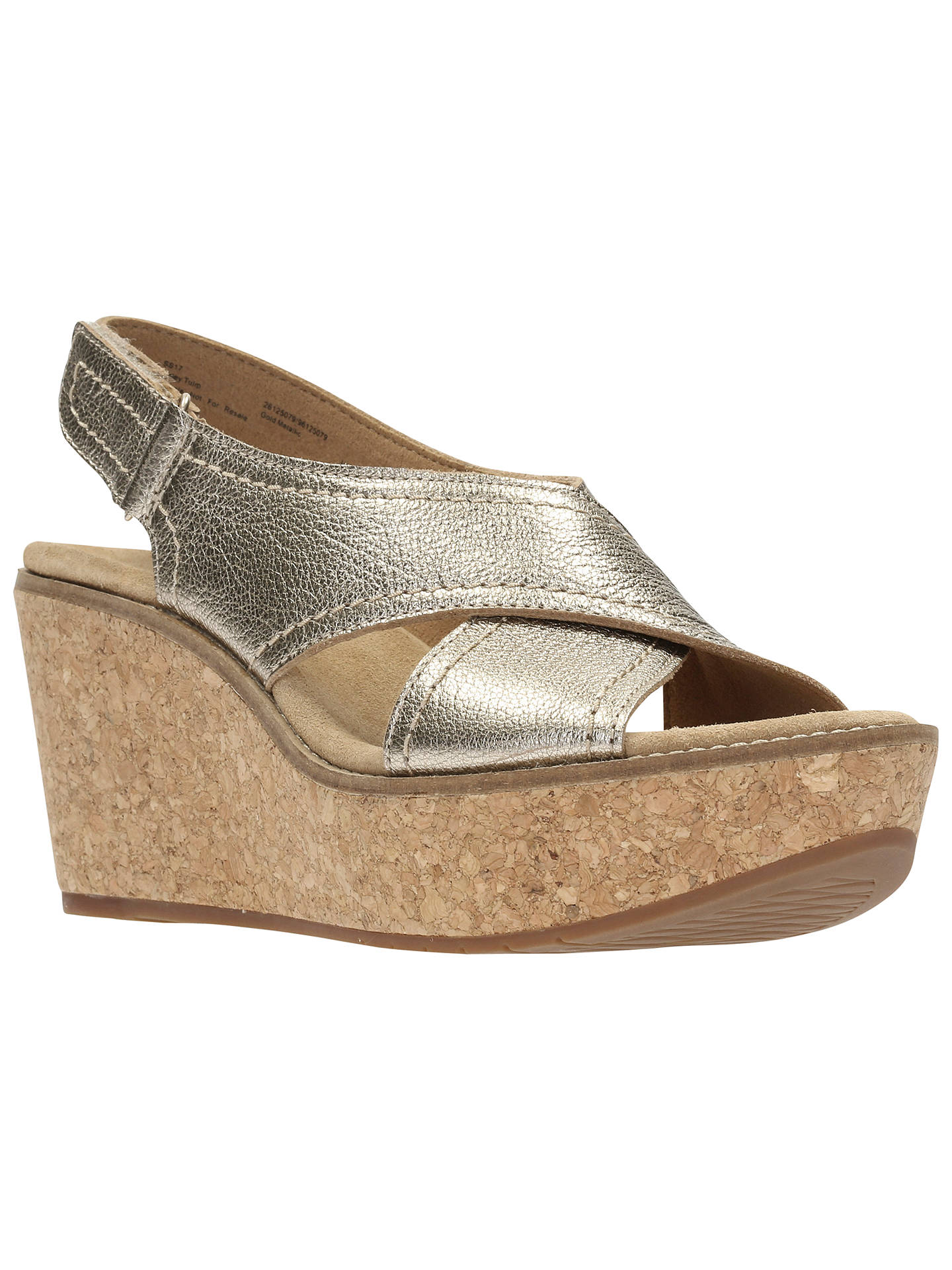 31860d4ad54 Buy Clarks Aisley Tulip Wedge Heeled Sandals