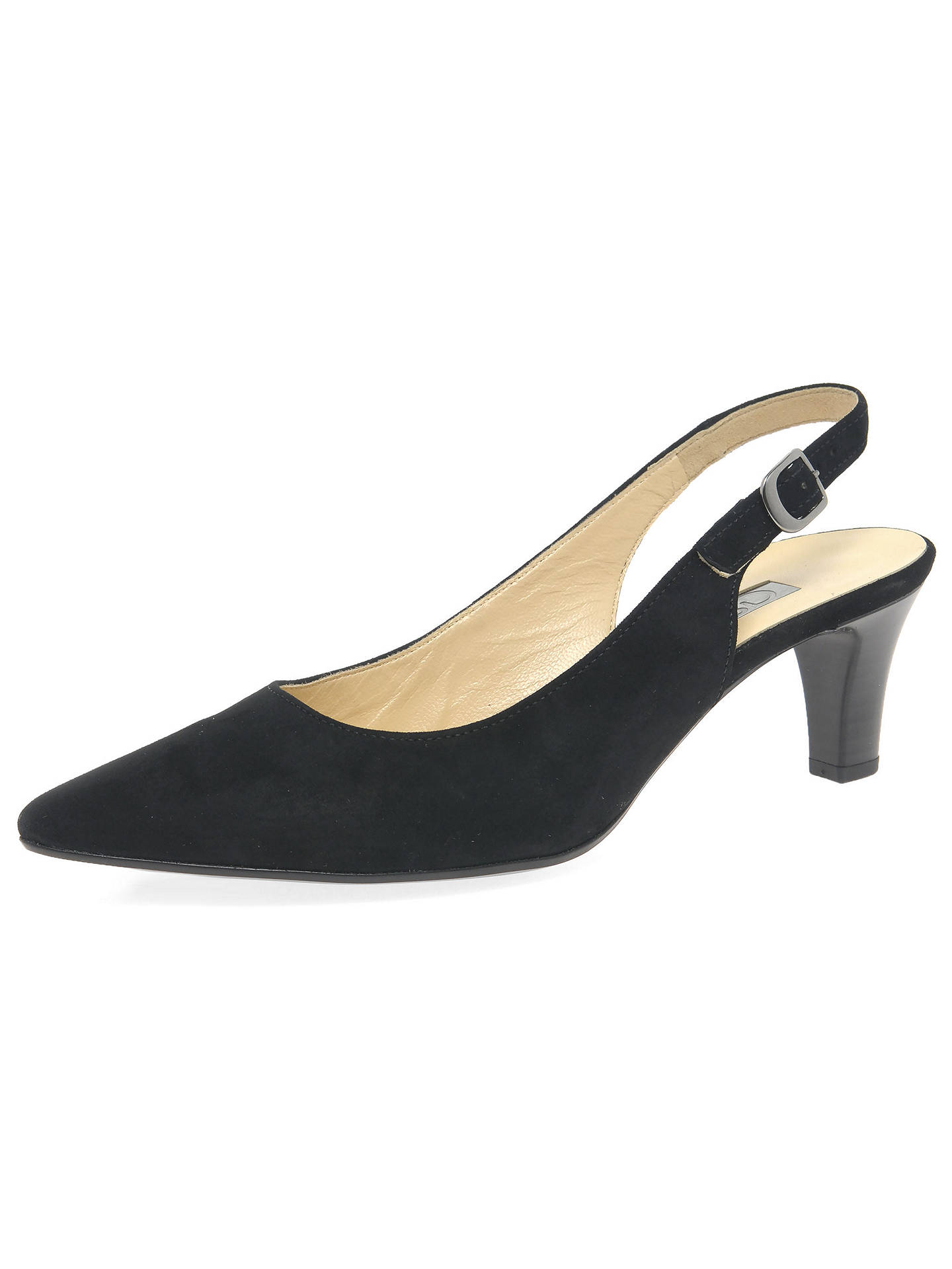 c353970aeb4 Gabor Hume 2 Slingback Court Shoes at John Lewis   Partners
