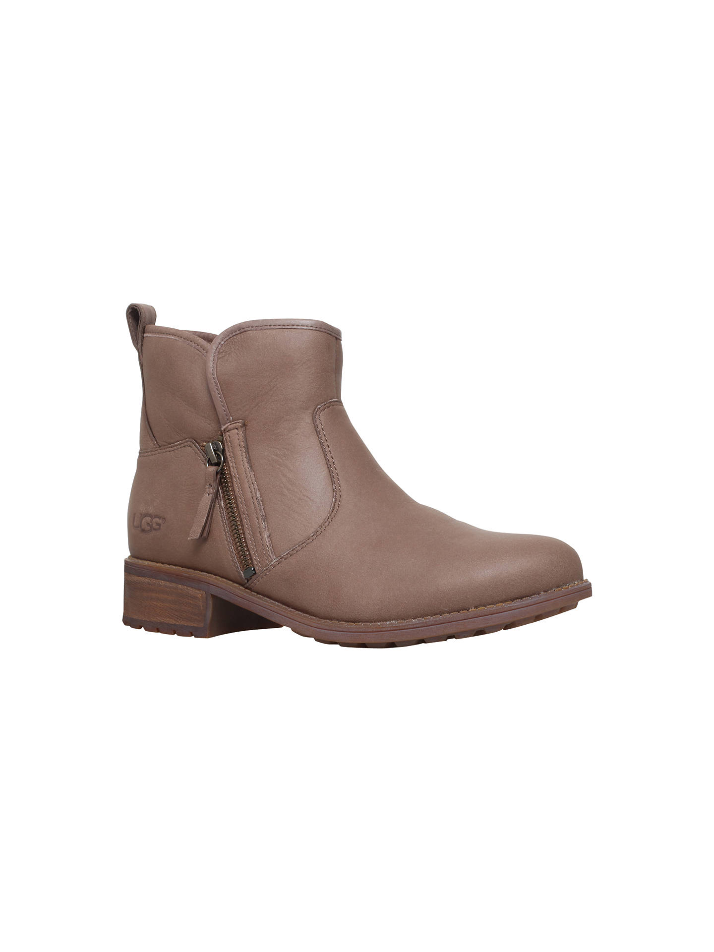 c16717b15dd UGG Lavelle Side Zip Ankle Boots at John Lewis & Partners