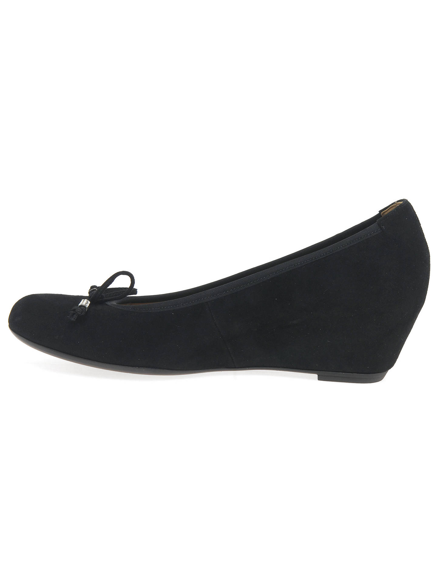cb76f067b4e Gabor Alvin Concealed Wedge Heel Court Shoes at John Lewis   Partners