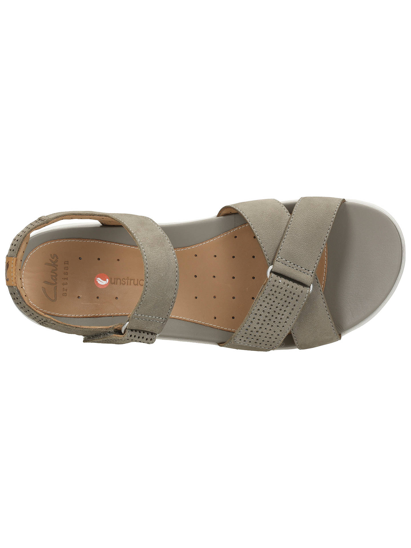 ec479e3cbce5 ... Buy Clarks Un Saffron Rip Tape Sandals
