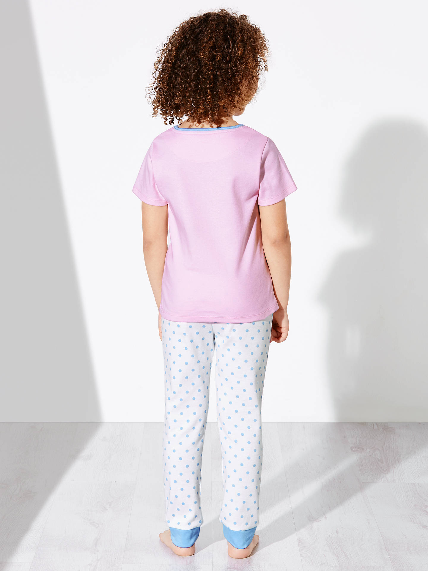 BuyJohn Lewis Children's Spring Bunny Pyjamas, Pink, 2 years Online at johnlewis.com