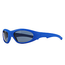 Buy John Lewis Children's Classic Sports Wrap Sunglasses, Blue Online at johnlewis.com