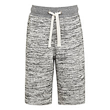 Buy John Lewis Boys' Sweat Jogger Shorts, Grey Online at johnlewis.com
