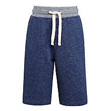 Buy John Lewis Boys' Sweat Jogger Shorts, Blue Online at johnlewis.com