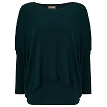 Buy Phase Eight Charley Double Layer Jumper, Forest Online at johnlewis.com