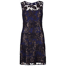 Buy Gina Bacconi Fancy Sequin Lace Fit And Flare Dress, Midnight Online at johnlewis.com