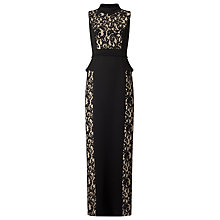 Buy Phase Eight Arla Lace Dress, Black/Nude Online at johnlewis.com