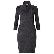 Buy Phase Eight Melita Knitted Dress, Charcoal Online at johnlewis.com