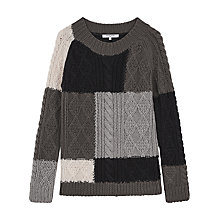 Buy Gerard Darel Marylin Pullover Jumper, Grey Online at johnlewis.com