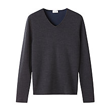 Buy Jigsaw Double Face V Jumper Online at johnlewis.com