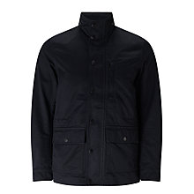 Buy Diesel J-Wines Four Pocket Cotton Field Jacket, Black Online at johnlewis.com