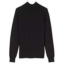 Buy Jigsaw Fine Merino Mock Neck Jumper Online at johnlewis.com