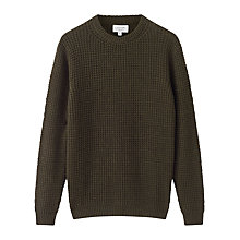 Buy Jigsaw Waffle Cashmere Jumper Online at johnlewis.com