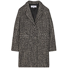 Buy Gerard Darel Jerry Coat, Black Online at johnlewis.com