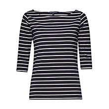 Buy French Connection Eso Tim Tim Stripe Utility T-Shirt Online at johnlewis.com