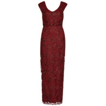 Buy Gina Bacconi Corded Embroidery Oriental Floral Maxi Dress Online at johnlewis.com