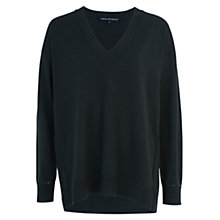 Buy French Connection Babysoft V-Neck Sweater, Brunswick Green Online at johnlewis.com