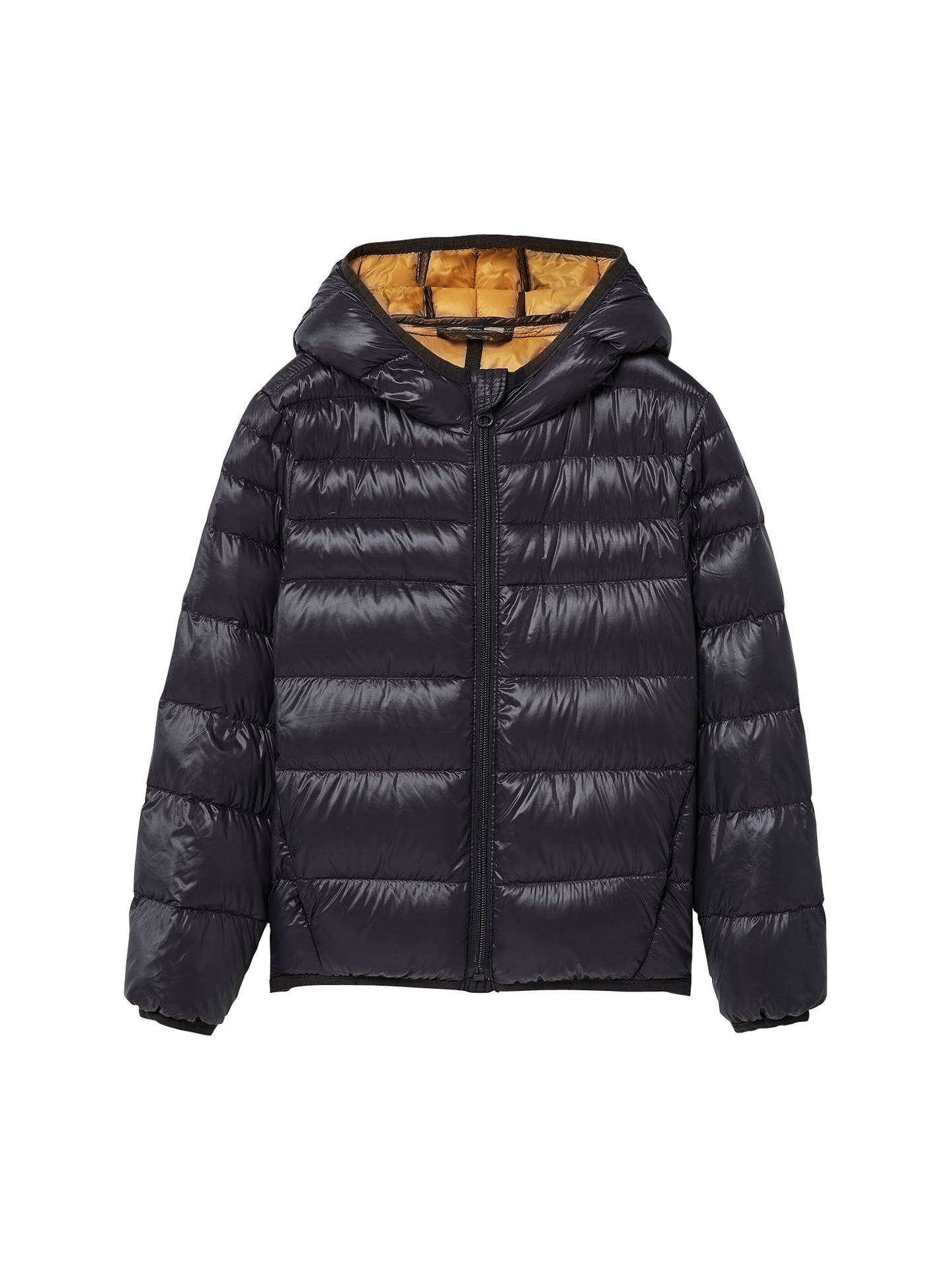 644e33e2bf7 Mango Kids Boys' Feather and Down Quilted Coat at John Lewis & Partners