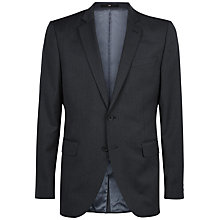 Buy Jaeger Wool Slim Fit Suit Jacket, Charcoal Online at johnlewis.com