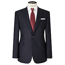 Buy John Lewis Crepe Peak Lapel Tailored Suit Jacket, Navy Online at johnlewis.com