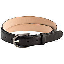Buy Thomas Pink Mock Croc Leather Belt Online at johnlewis.com