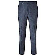 Buy John Lewis Flannel Tailored Suit Trousers, Airforce Blue Online at johnlewis.com