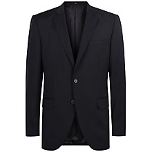 Buy Jaeger Wool Regular Fit Suit Jacket, Navy Online at johnlewis.com