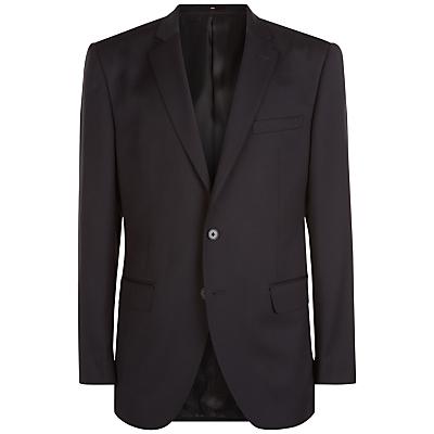 Image of Jaeger Wool Regular Fit Suit Jacket, Black
