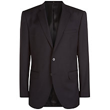 Buy Jaeger Wool Regular Fit Suit Jacket, Black Online at johnlewis.com