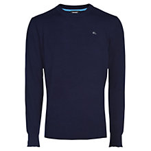 Buy Diesel K-Pablo Crew Neck Jumper, Peacoat Blue Online at johnlewis.com