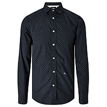 Buy Diesel S-Blanca Long Sleeve Floral Print Shirt, Peacoat Blue Online at johnlewis.com