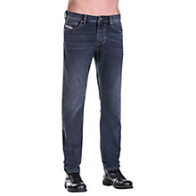 Buy Diesel Larkee-Beex 0860Q Stretch Tapered Jeans, Dark Blue Online at johnlewis.com