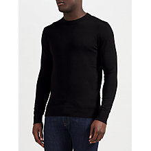 Buy Diesel K-Pablo Crew Neck Jumper, Black Online at johnlewis.com