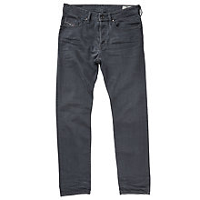 Buy Diesel Buster 0859X Stretch Tapered Jeans, Dark Grey Online at johnlewis.com
