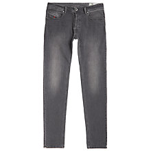 Buy Diesel Belther Stretch Tapered Jeans, Royal Indigo Online at johnlewis.com