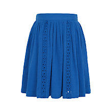 Buy John Lewis Girls' Crotchet Trim Skirt Online at johnlewis.com