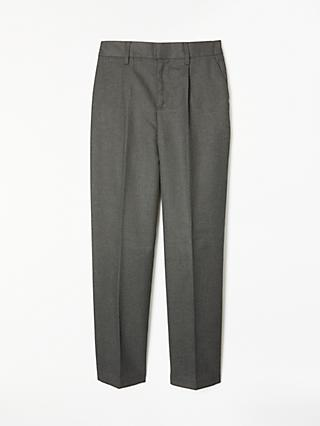 John Lewis & Partners Boys' Regular Fit Easy Care School Trousers