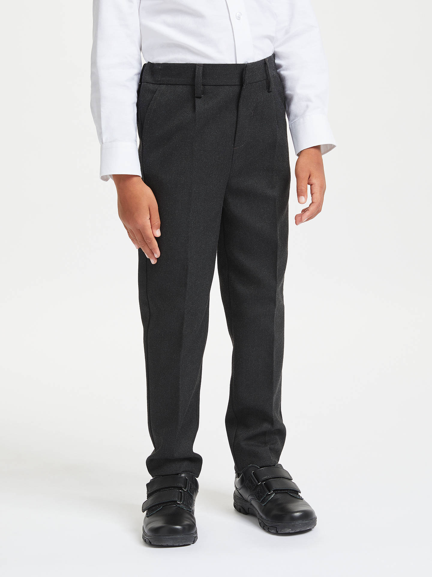5c2f82874a995a John Lewis   Partners Boys  Regular Fit Easy Care School Trousers at ...