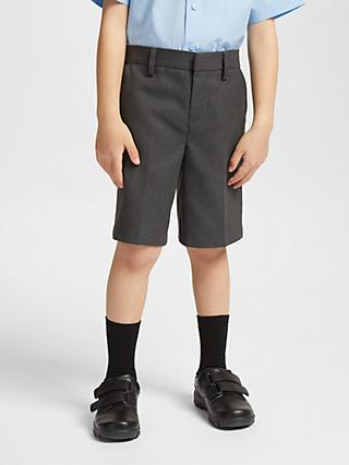 John Lewis & Partners Boys' Easy Care Regular Length School Shorts
