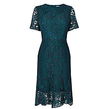 Buy Coast Linera Lace Dress, Forest Online at johnlewis.com