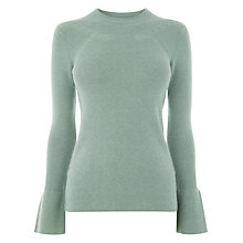Buy Warehouse Flare Cuff Jumper Online at johnlewis.com
