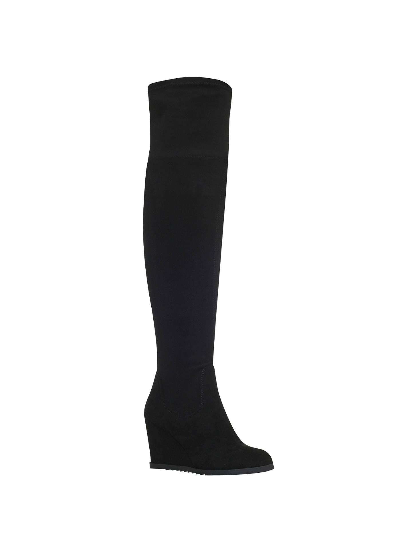 70db428ee54 Miss KG Vivien Wedge Heeled Over the Knee Boots at John Lewis   Partners