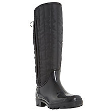 Buy Dune Twister Warm Lined Wellington Boots, Black Online at johnlewis.com