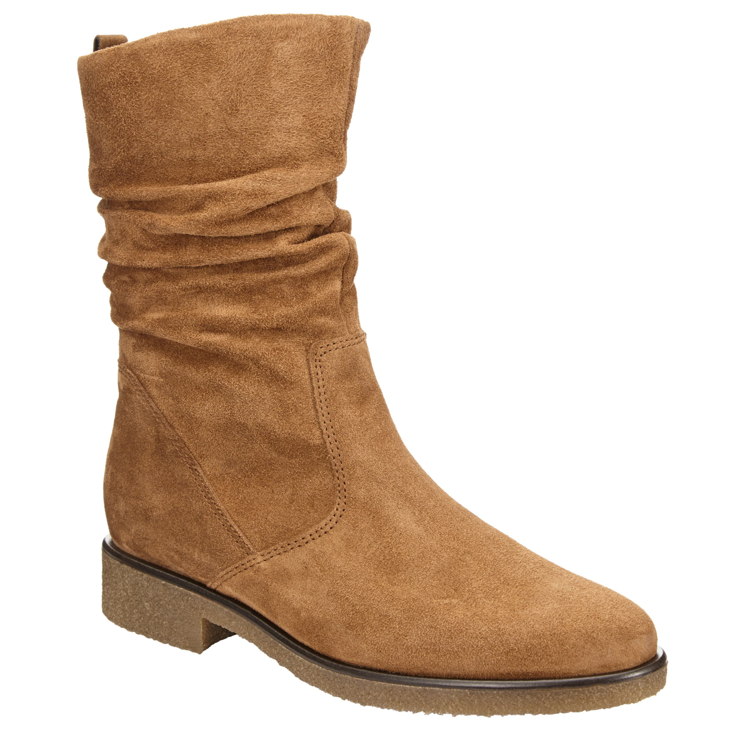 968c836b9 Gabor Greendale Slouch Calf Boots, Ranch at John Lewis & Partners