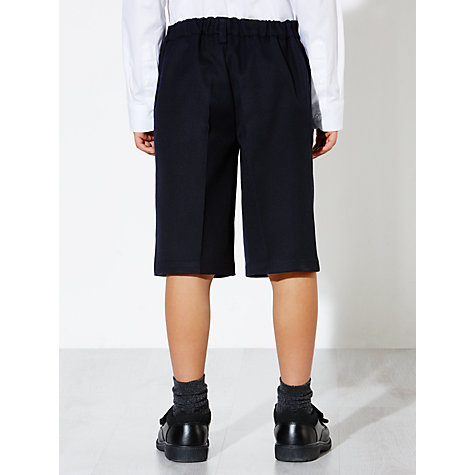 Buy John Lewis Boys' Easy Care Bermuda Length School Shorts Online at johnlewis.com
